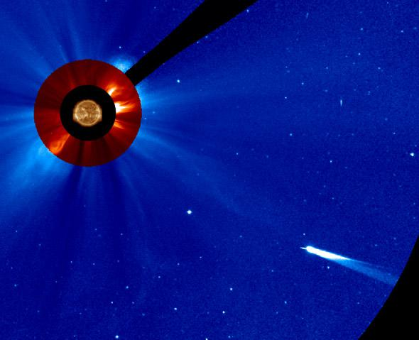 Sun and ISON