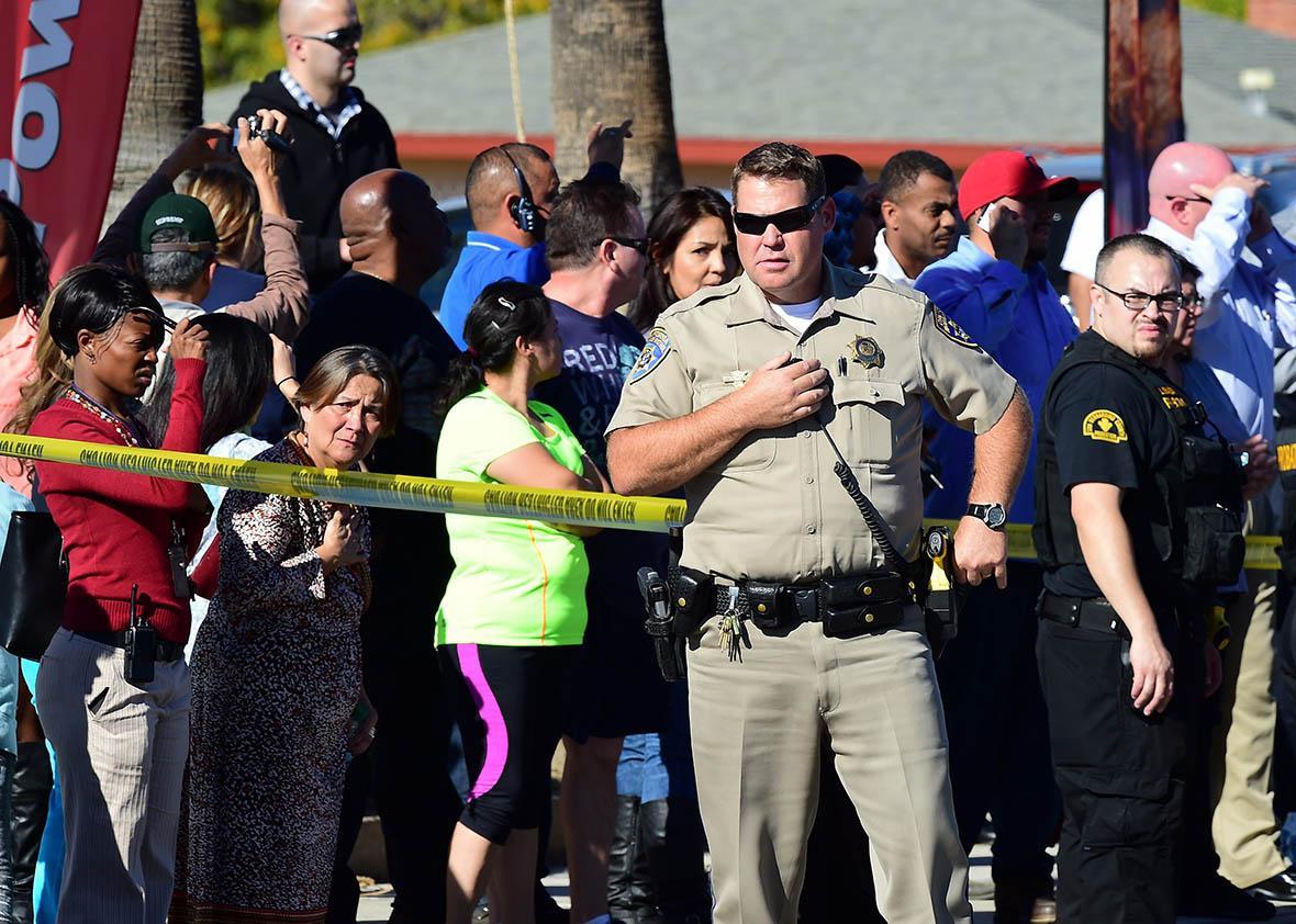 San Bernardino Shooting confusion.