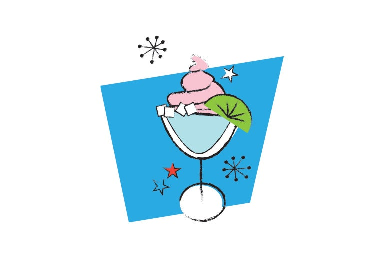 Illustration of a cocktail.