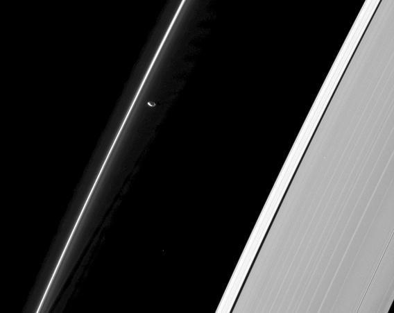 Cassini pic of Prometheus