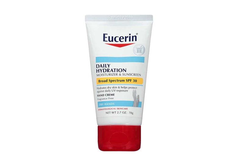 Eucerin hand cream.