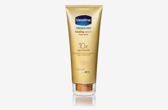 Vaseline Healing Serum Deep Repair.