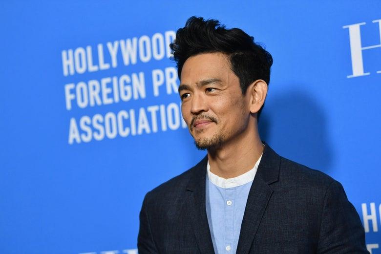 Actor John Cho, smiling.