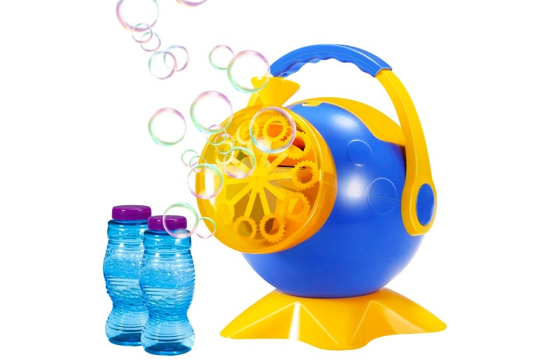 Bubble machine.