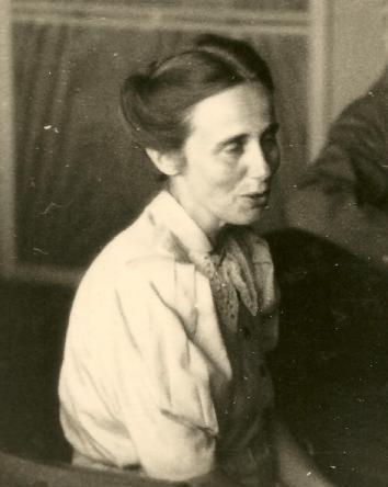 Marie Straubel.