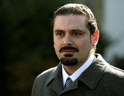 Lebanese Prime Minister Saad Hariri. Click image to expand.