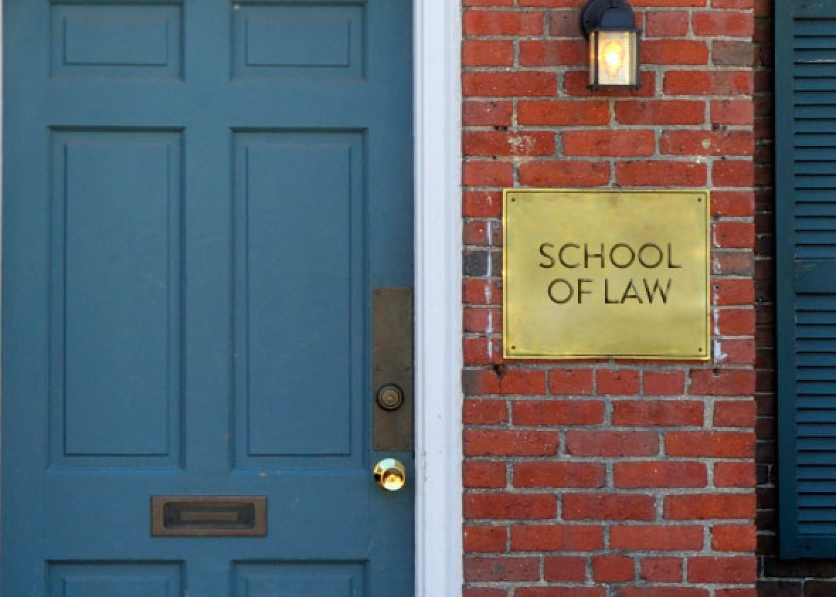 A Law School Is Finally Closing