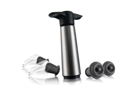 Vacuvin Wine Saver Gift Set.