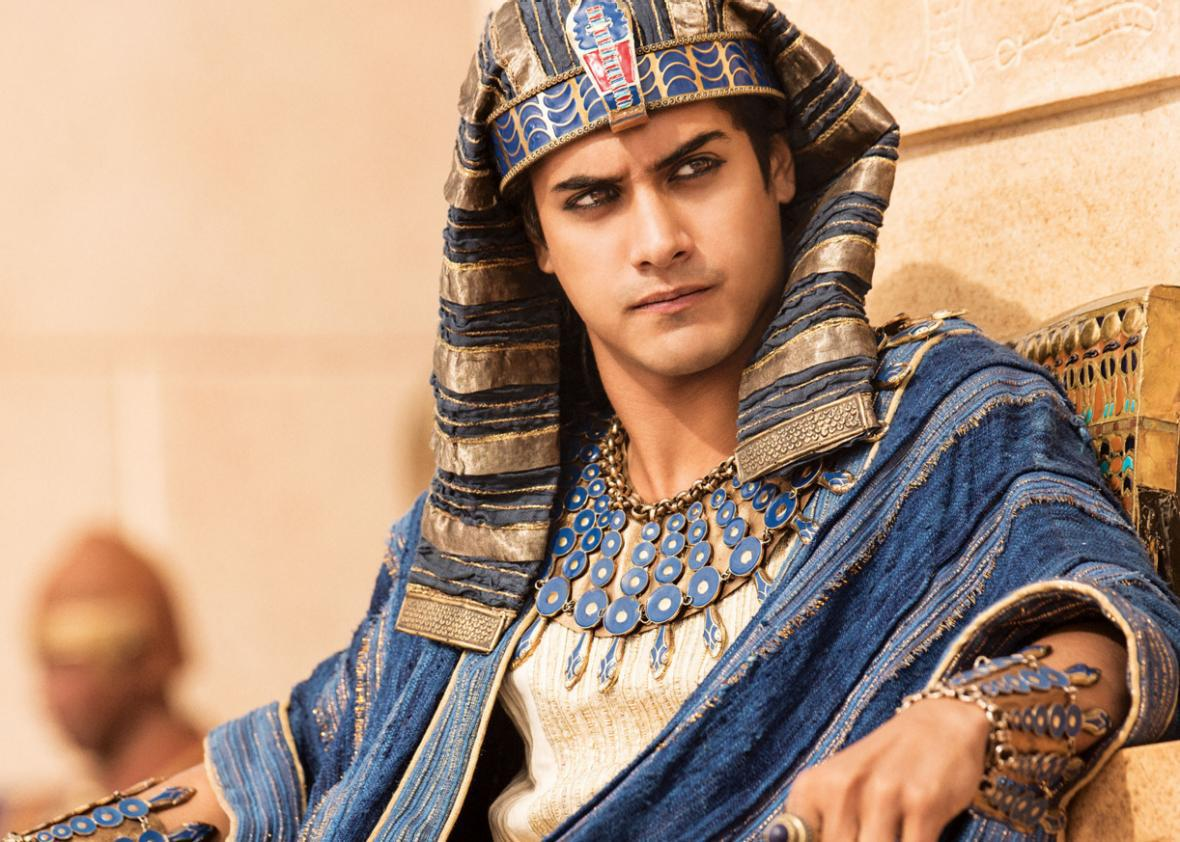 Avan Jogia as King Tutankhamun on Tut.