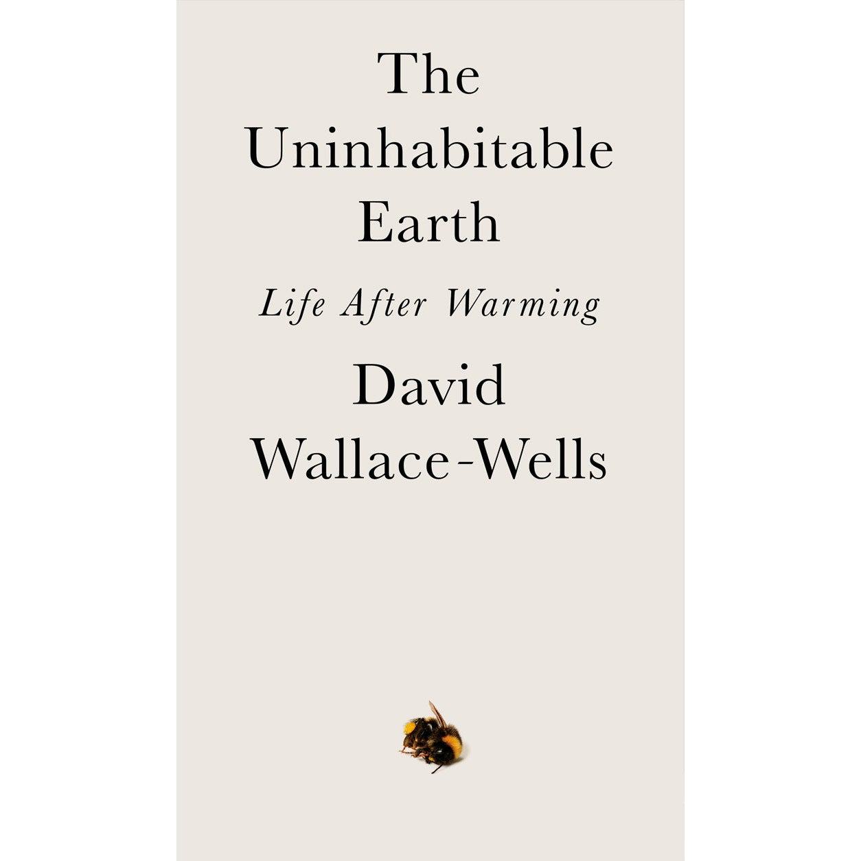 The Uninhabitable Earth book cover.