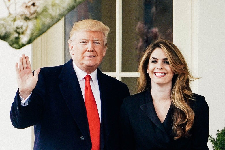 Hope Hicks Says Hope Hicks Was Great at Her Job. Should We Trust Her?