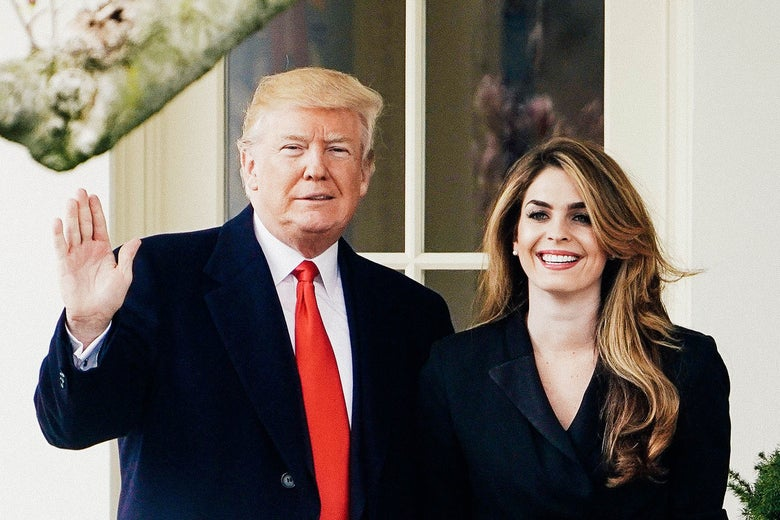 Image result for Images of Trump Jr. and Hope Hicks