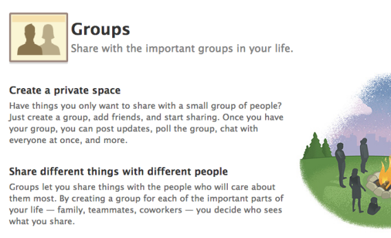Facebook Groups privacy