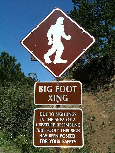 Sign on Pikes Peak Highway.