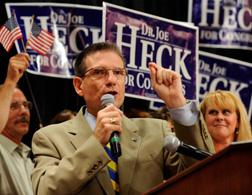 U.S. Republican congressional candidate Dr. Joe Heck. ick image to expand.