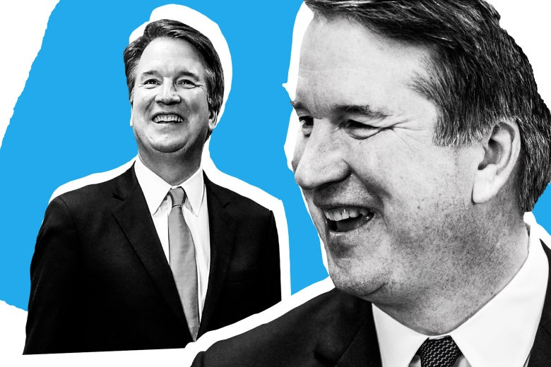 Judge Brett Kavanaugh smiling.