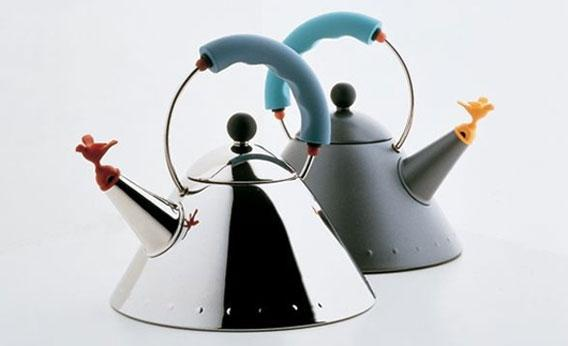 Michael Graves teakettle for Alessi