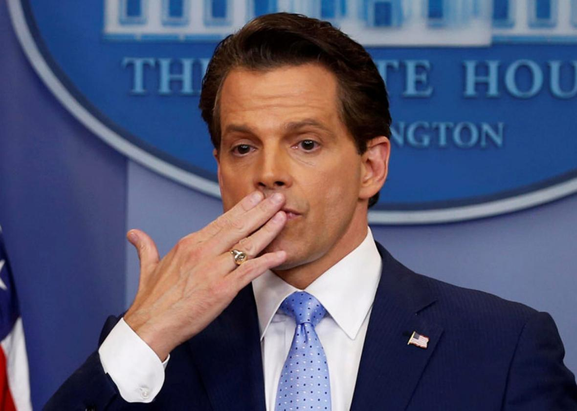 Ex White house Communications Director Anthony Scaramucci