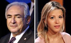 Dominique Strauss-Kahn and Tristane Banon. Click image to expand.