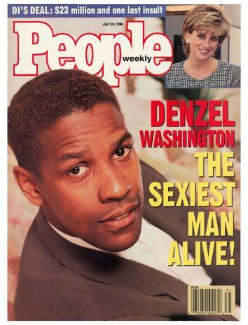 Denzel Washington Sexiest Man Alive