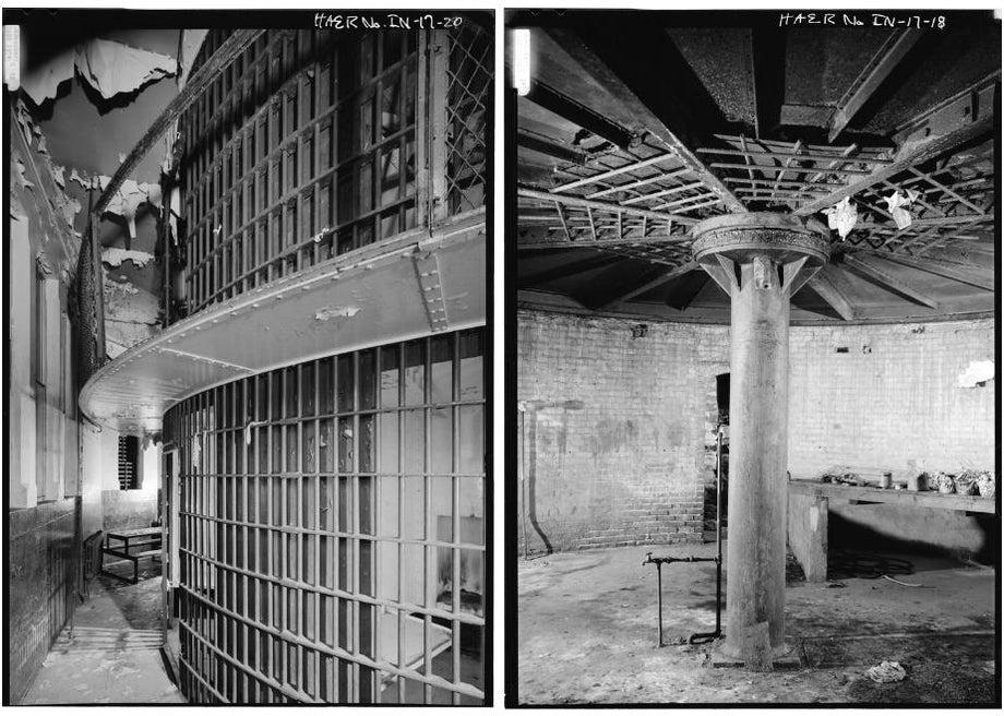 Rotary jails of Indiana, Missouri, and Iowa