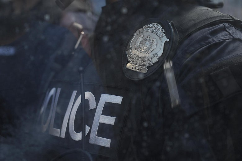 An officer died during  St. Louis an alleged game of Russian Roulette