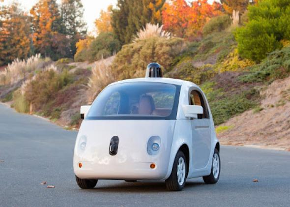 Google's first self-driving car prototype was assembled by Roush in Detroit. But it may work with Ford, GM, Toyota or others to bring the technology to market.