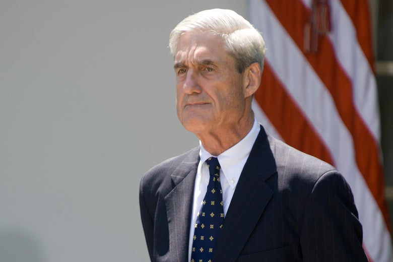 Robert Mueller at the White House in 2013.