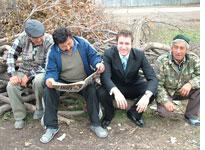 Dominik Lemanski hunts for Borat in Kazakhstan. Click image to expand.