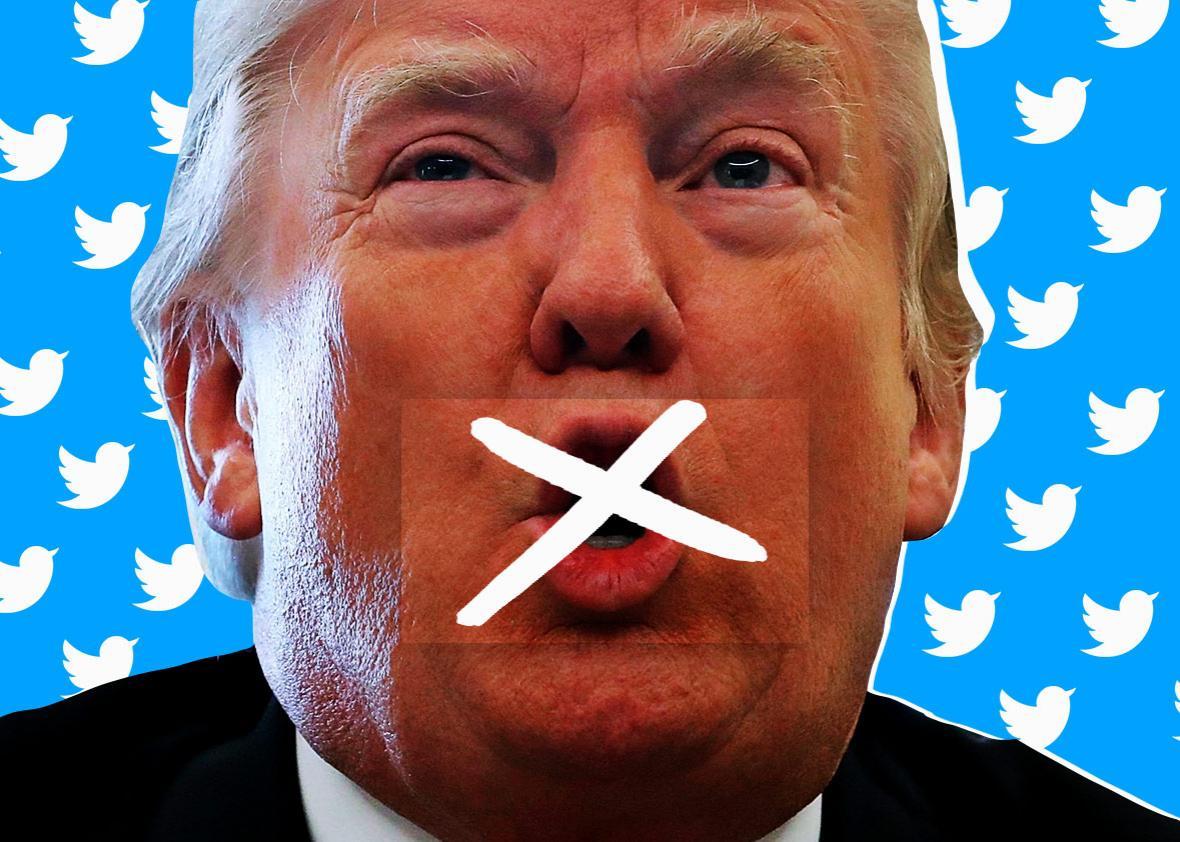 Should Twitter ban Trump?