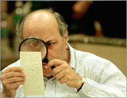 2000 presidential election vote recount.
