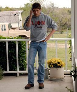 hoto of Matt Lauria as Luke Cafferty in Friday Night Lights. Click image to expand.