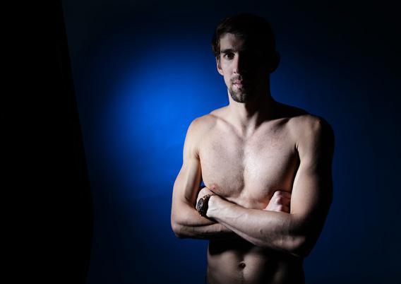 Michael Phelps Controversial Olympics Potrait
