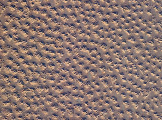 Sand dunes from space