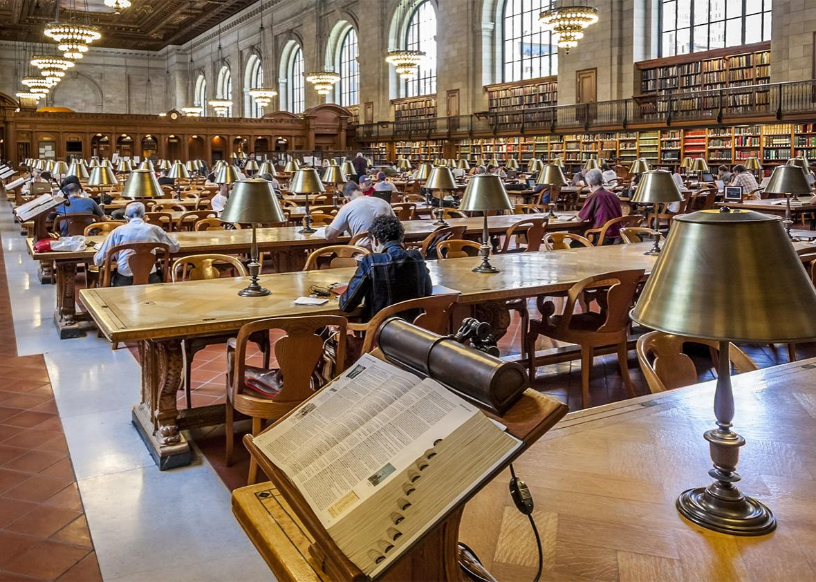 The Rose Main Reading Room of New York Public Library