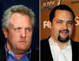 Andrew Breitbart, left, and Ben Jealous. Click image to expand.