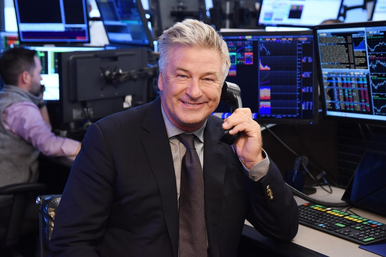 Alec Baldwin at the Annual Charity Day hosted by Cantor Fitzgerald in New York City.