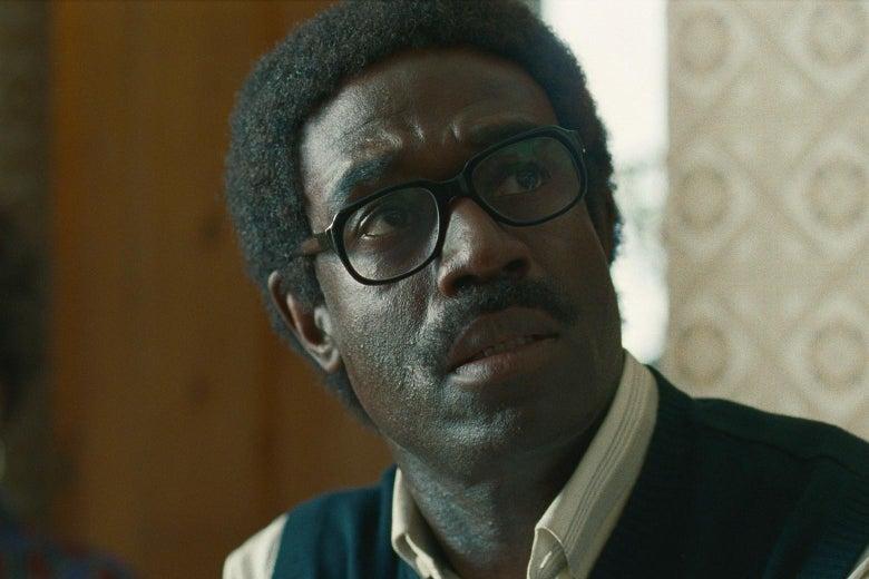 Steve Toussaint as Ken Logan.