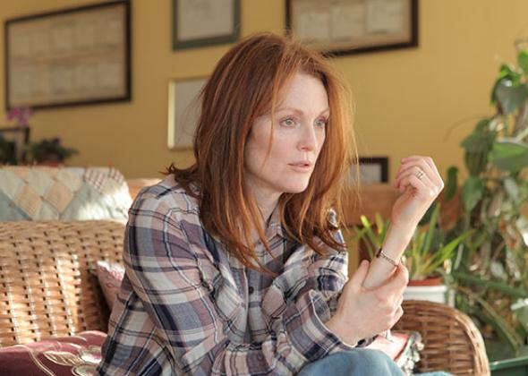Julianne Moore as Alice Howland in Still Alice.