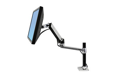 Ergotron LX Desk Mount LCD Monitor Arm Tall Pole