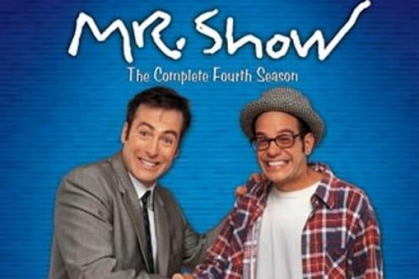 Bob Odenkirk and David Cross in Mr. Show.