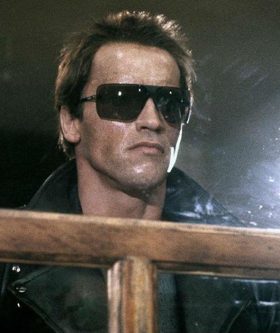 Still from The Terminator.