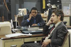 Jon Michael Hill and Michael Imperioli in Detroit 187. Click image to expand.
