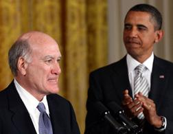 William M. Daley with Barack Obama.
