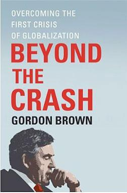"Book ""Beyond the Crash"" by Gordon Brown."
