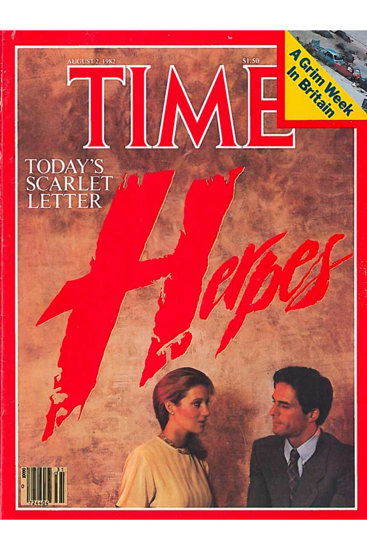 Time Magazine; cover story on Herpes.