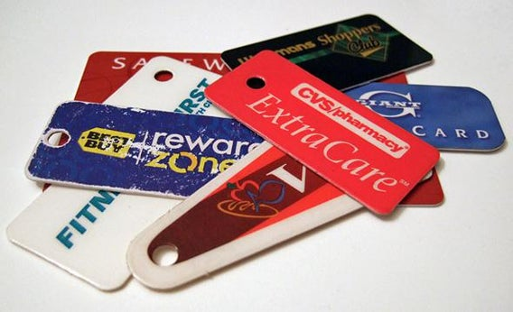 Frequent buyer cards