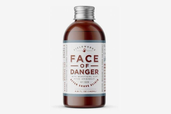 Face of Danger Organic After Shave Lotion