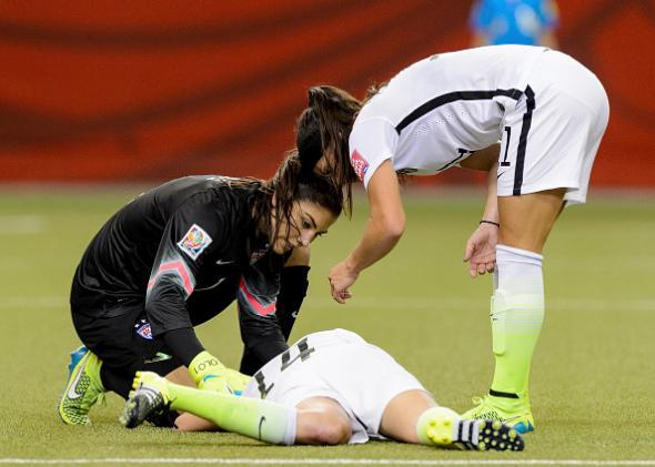 The USA-Germany Semifinal Just Proved Why FIFA Needs a Better Concussion Protocol