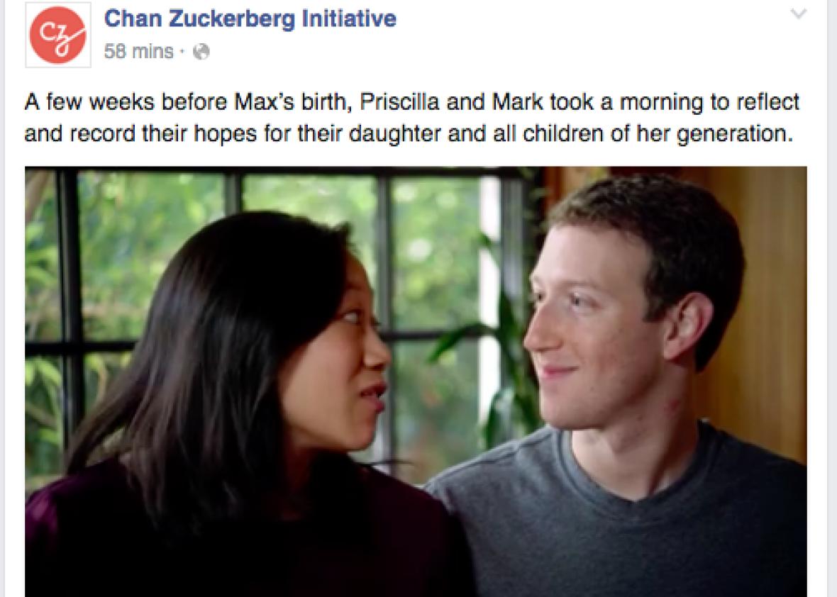 Chan Zuckerberg Initiative Pledges 1 >> Mark Zuckerberg Pledges To Donate 99 Percent Of His Wealth